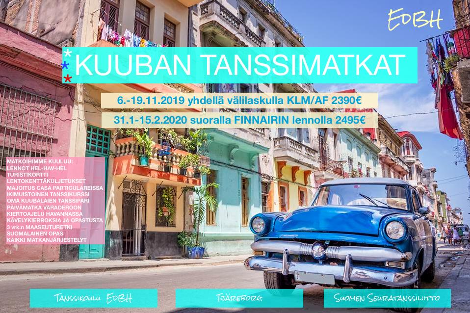 Tanssimatka Kuuba 2019/2020