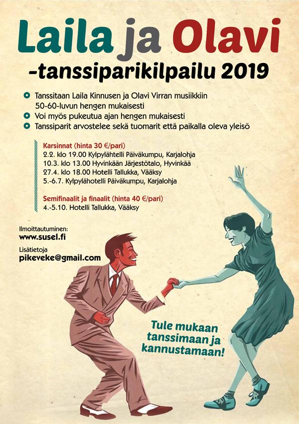 Laila & Olavi - tanssiparikilpailu 2019