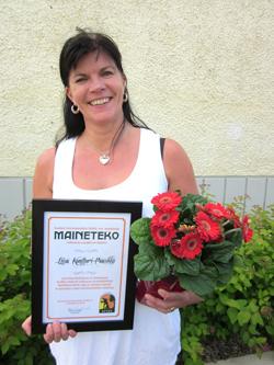Liisa Kontturi-Paasikko, Maineteko-palkinto 2012
